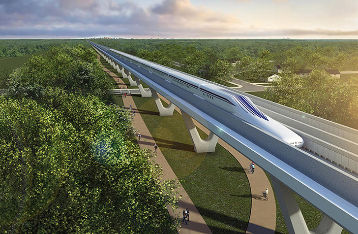 Maglev-Rendering-Maryland