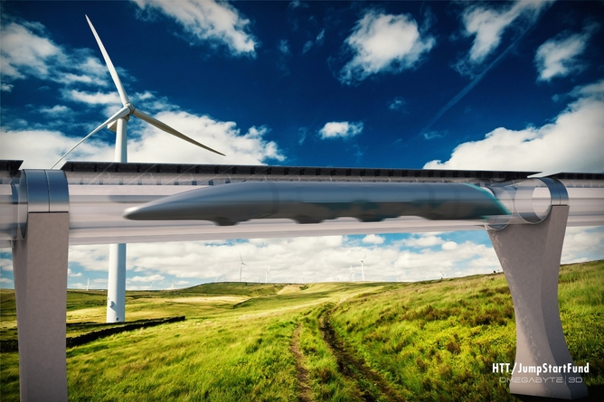 hyperloop tehnologie transport