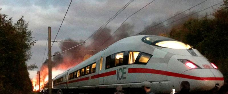 12 10 2018 incendiu tren ice germania