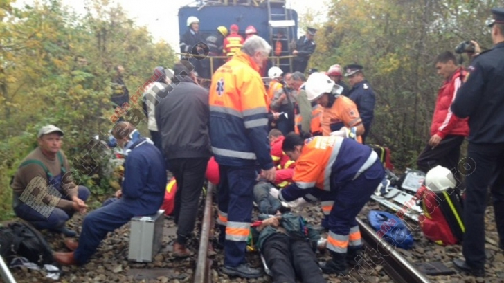 tren drezina accident-Bistrita