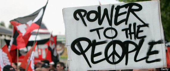 protest power to the people